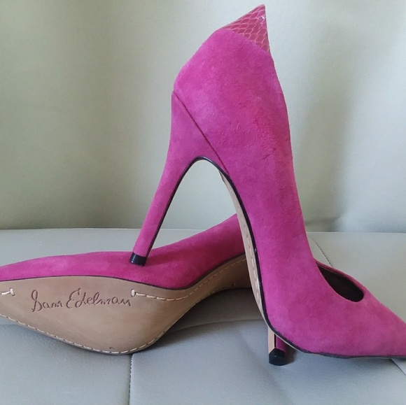 c326c541c1799 Sam Edelman Hot Pink Pumps. M 5a83016545b30c221cb43f06